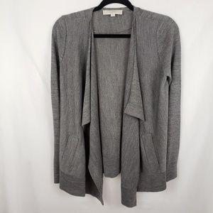 LOFT Draped Open Cardigan Size S
